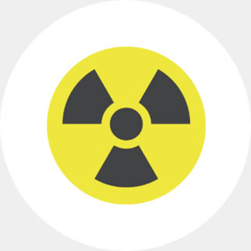 Radioactive particle detection